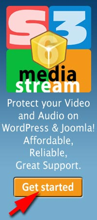 Protect video with S3Media Stream