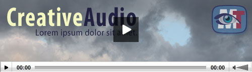 Embedding an audio with poster image, watermark and subtitles, using