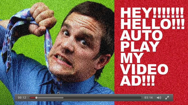 Autoplay video ad