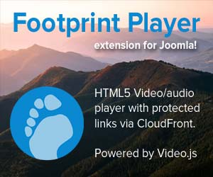 Footprint Player for Joomla!