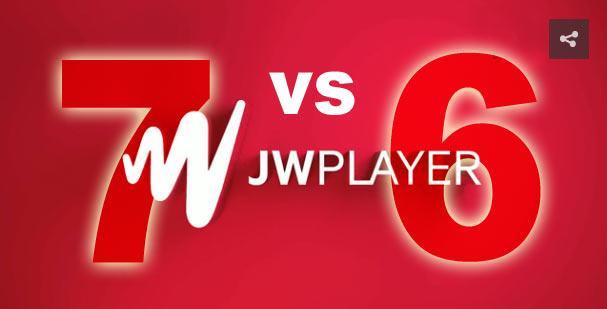 JW Player 7 vs JW Player 6