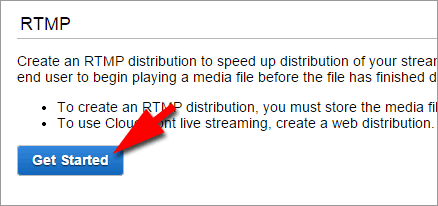 RTMP distribution