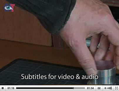 Subtitles in action