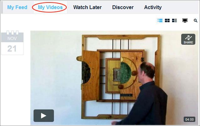 Vimeo embedding