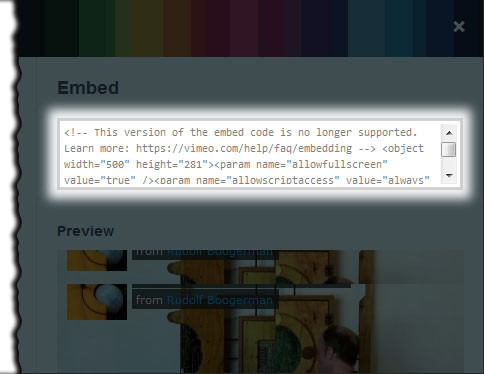 How to embed a video from Vimeo in WordPress without iFrame