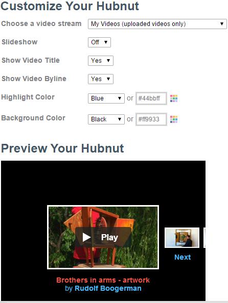 Vimeo hubnut