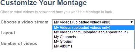 Vimeo montage