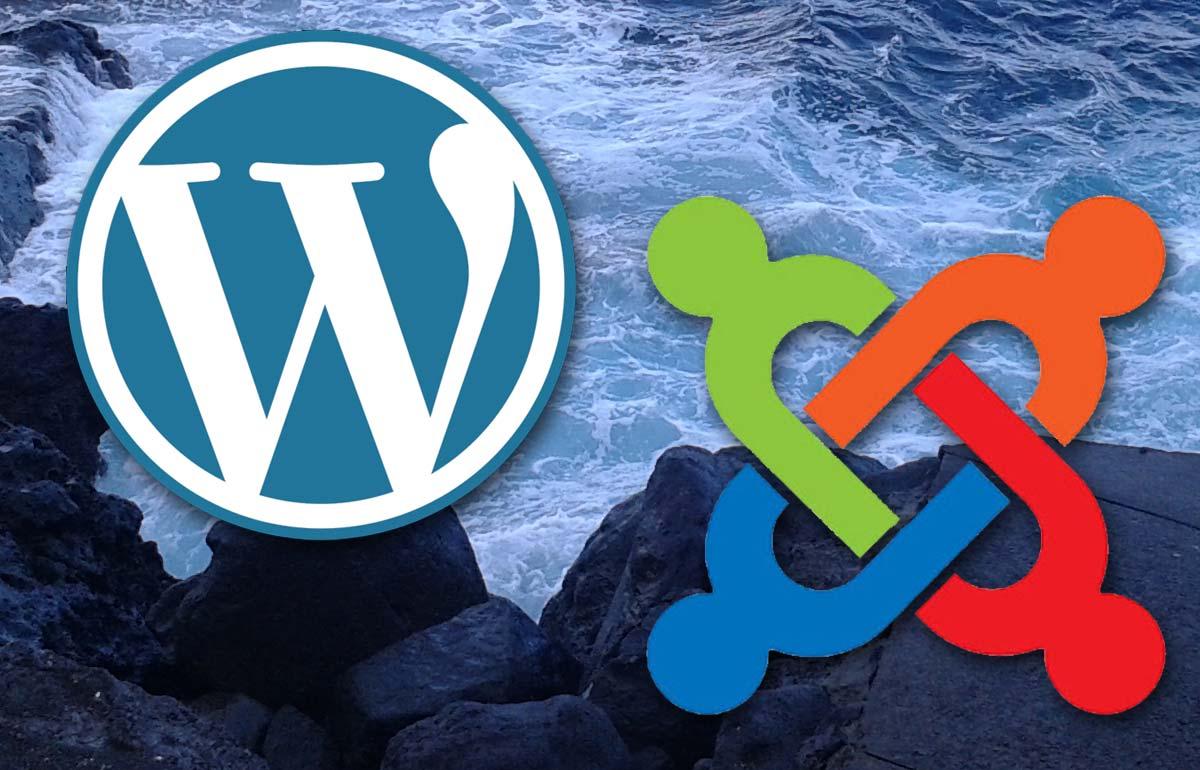 Wordpress vs Joomla review